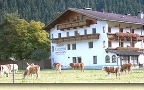 Rakousko - Zillertal Arena na 4 dny, polopenze s dopravou vlastní