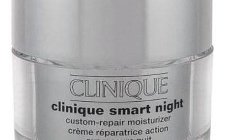 Clinique Clinique Smart Night 50 ml noční krém na suchou a velmi suchou pleť pro ženy
