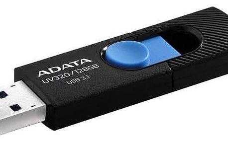 ADATA UV320 128GB černý/modrý (AUV320-128G-RBKBL)