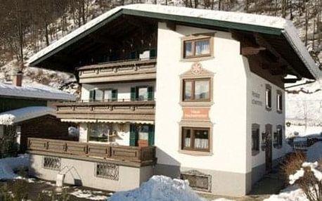 Rakousko - Kaprun / Zell am See na 8 dní, snídaně s dopravou vlastní