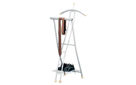 Kovový věšák na obleky a oblečení 50x44x114 cm, ZELLER