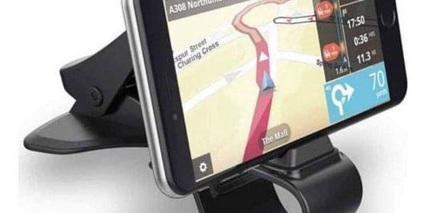 Univerzální držák na telefon v černé barvě