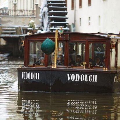 Plavba na lodi pražskými Benátkami