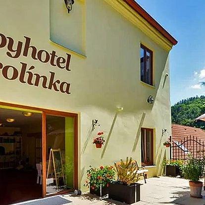 Rodinná idylka ve Vranově s polopenzí i wellness