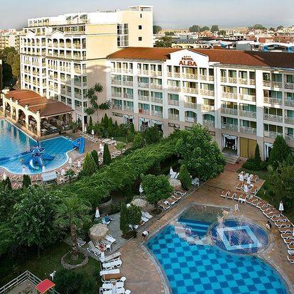 Bulharsko - Slunečné pobřeží letecky na 11-12 dnů, all inclusive