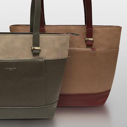 Dámské elegantní kabelky David Jones z eko kůže