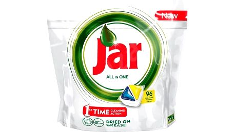 JAR Yellow (96 ks) - kapsle do myčky