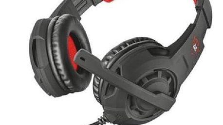 Trust GXT Gaming 310 černá/červená (21187)