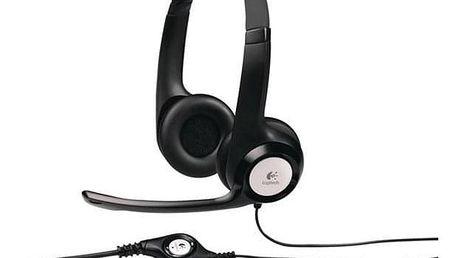 Logitech H390 USB černý (981-000406)