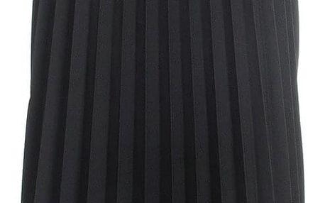 M&V Plisovaná sukně klasická černá 95 cm