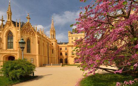 Jarní pobyt se snídaní v penzionu u zámku Lednice