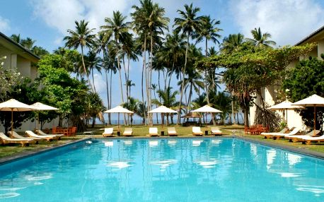 Srí Lanka - Kalutara na 10 dní, all inclusive s dopravou letecky z Prahy, přímo na pláži