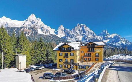 Itálie, Dolomiti Superski, vlastní dopravou na 5 dní polopenze