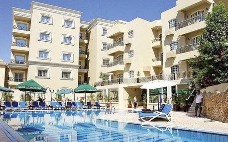 Egypt - Hurghada na 8 dní, all inclusive s dopravou letecky z Prahy, 300 m od pláže