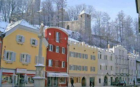 Itálie - Trentino na 4 dny, polopenze s dopravou vlastní