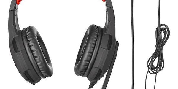 Headset Trust GXT Gaming 310 černá/červená (21187)3