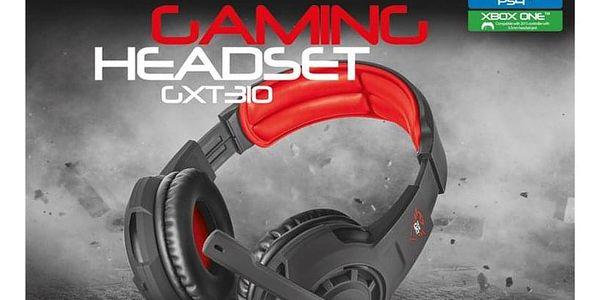 Headset Trust GXT Gaming 310 černá/červená (21187)5