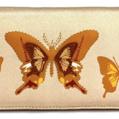 Dámská zlatá peněženka Saily 1082