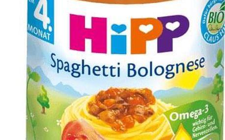 6x HIPP BIO špagety v boloňské omáčce (190 g) - maso-zeleninový příkrm