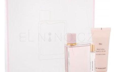 Burberry Her dárková kazeta pro ženy parfémovaná voda 100 ml + tělové mléko 75 ml + parfémovaná voda 7,5 ml