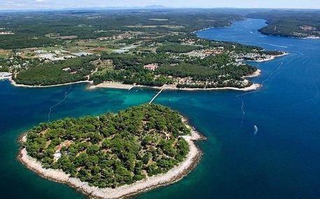 Chorvatsko - Istrie na 7 až 11 dní, bez stravy s dopravou vlastní, 300 m od pláže