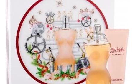 Jean Paul Gaultier Classique dárková kazeta pro ženy toaletní voda 100 ml + tělové mléko 75 ml
