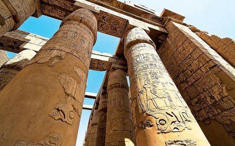 Egypt letecky na 15 dnů, strava dle programu