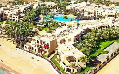 Spojené arabské emiráty - Fujairah na 8 dní, snídaně s dopravou letecky z Prahy, přímo na pláži