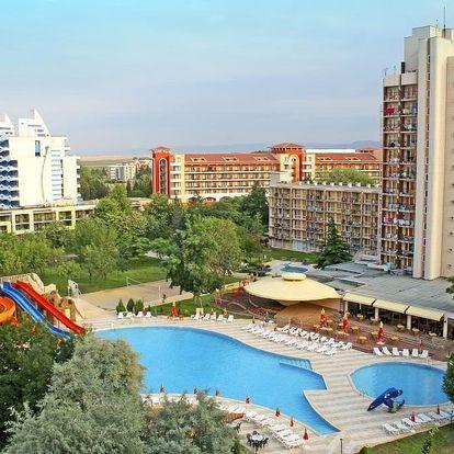 Bulharsko - Slunečné Pobřeží na 8 dní, all inclusive s dopravou letecky z Prahy, 130 m od pláže