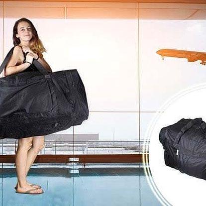 Obrovská cestovní taška o objemu 188 l