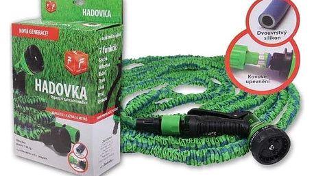Flexibilní zahradní hadice Hadovka o délce až 30 metrů