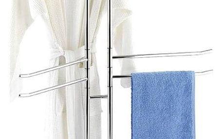 Koupelnový stojanový věšák na ručníky PALERMO - 8 ramenný, WENKO