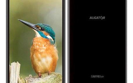 Aligator S5070 Dual SIM černý (AS5070BK)