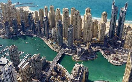 Spojené arabské emiráty - Dubai na 4 až 5 dní, polopenze nebo bez stravy s dopravou letecky z Prahy
