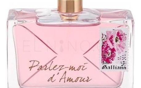 John Galliano Parlez-Moi d´Amour 80 ml parfémovaná voda tester pro ženy