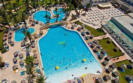 Tunisko - Monastir na 4 dny, all inclusive s dopravou letecky z Prahy, přímo na pláži