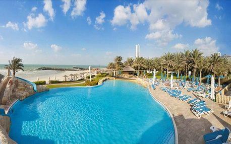 Spojené arabské emiráty - Sharjah na 4 dny, snídaně s dopravou letecky z Prahy, přímo na pláži