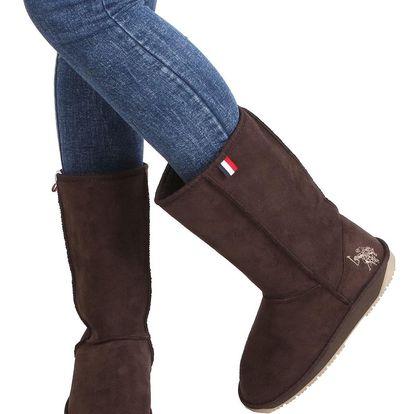 Dámské zimní boty U.S. Polo