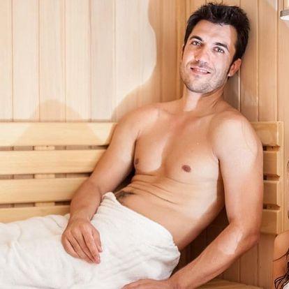 90 až 180 minut privátní sauny s masáží pro dva