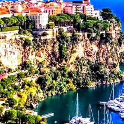 Víkendový výlet nebo Velikonoce v Monaku.