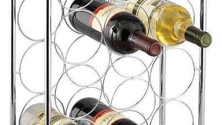 Kovový stojan na víno, 14 lahví, ZELLER