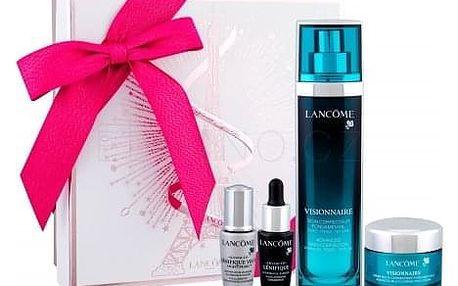 Lancôme Visionnaire Advanced Skin Corrector dárková kazeta proti vráskám pro ženy pleťové sérum 30 ml + denní pleťová péče 15 ml + pleťové sérum Advanced Génifique 7 ml + oční sérum Advanced Genifique Yeux Light-Pearl 5 ml