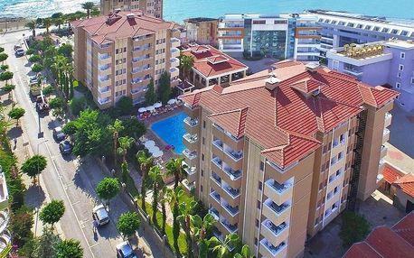Turecko - Alanya na 8 dní, all inclusive s dopravou letecky z Prahy, 50 m od pláže