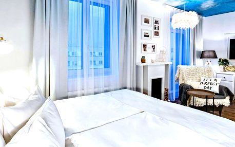 Noc v designovém pokoji 4* Grand Hotelu Imperial