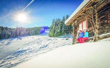 Rakousko se saunou a blízko ski areálů