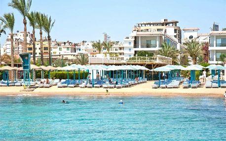 Egypt - Hurghada na 8 dní, all inclusive s dopravou letecky z Prahy, přímo na pláži