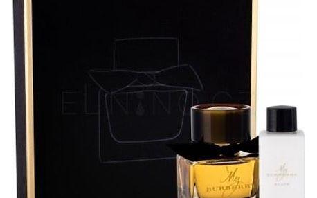 Burberry My Burberry Black dárková kazeta pro ženy parfém 50 ml + tělové mléko 75 ml