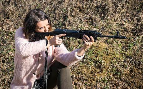 Střelba z pistole, pušky i samopalu