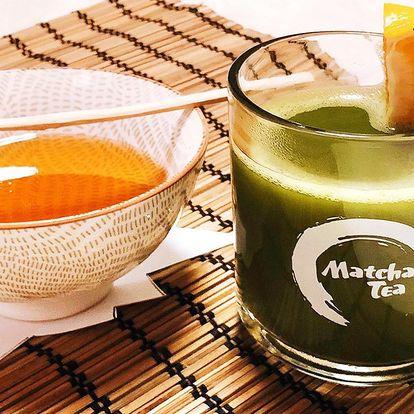 Čaj matcha na posílení imunity v centru Prahy