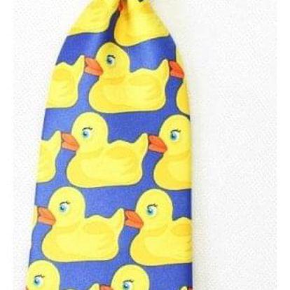 Pánská kravata s kachničkami